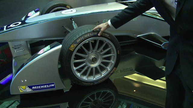 The latest Formula E car