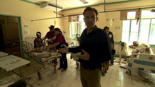 Rupert Wingfield-Hayes reports from inside a hospital