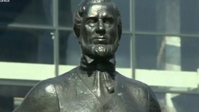 John Hughes statue