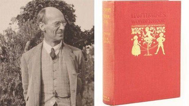Arthur Rackham and illustrated book