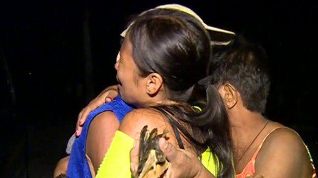 Family embrace