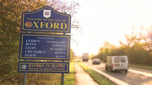 Oxford sign