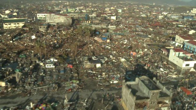 Tacloban from the air