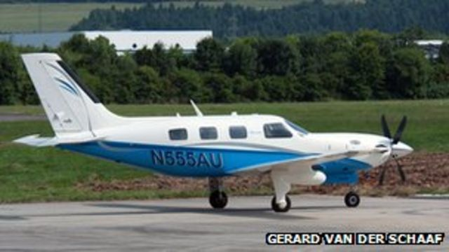 Passenger 'falls' from small plane