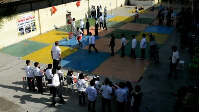 School children in Iraq