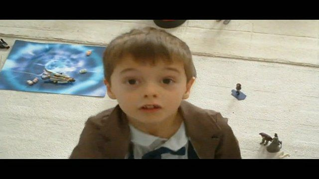 Dylan as The Doctor