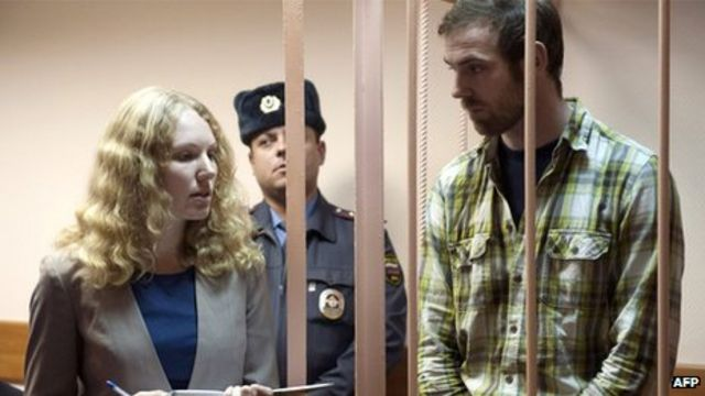 Russia bails Greenpeace doctor, photographer and activist