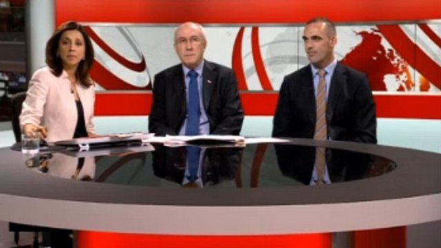 From left: Riz Lateef, Leon Daniels and Danny Williams