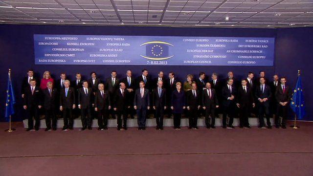 EU leaders family photo