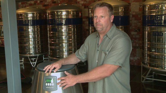 Second chance for wine making machine entrepreneur bbc news - Machine a chips maison ...