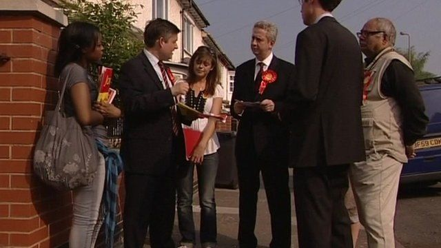 Election campaigners