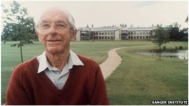 Frederick Sanger: Double Nobel Prize winner dies at 95