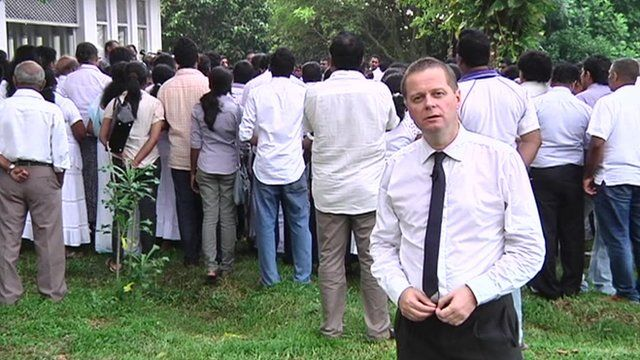 Thavisha Lakindu Peiris' funeral