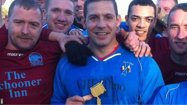 Winner of the BBC Cymru Wales 2013 Unsung Hero Award Paul Scarfi