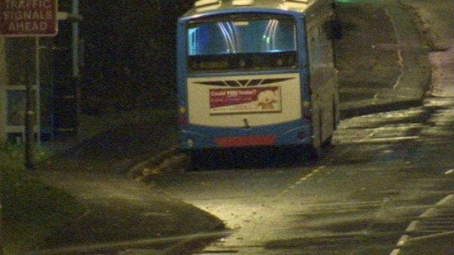 A suspicious object on a bus has led to a security alert