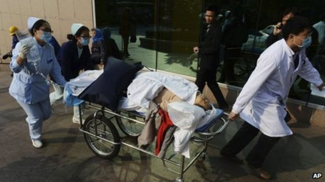 China oil pipe blast: Qingdao pipeline blast 'kills 44'