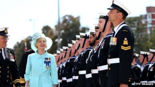 Australia's governor-general Bryce in republic call