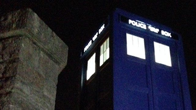 Tardis night