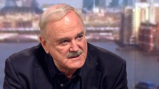 John Cleese on The Andrew Marr Show