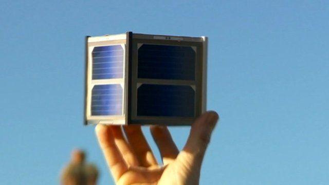 The Funcube satellite