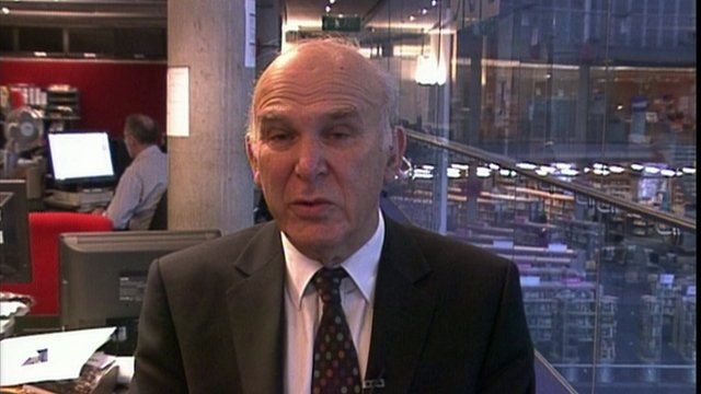 Vince Cable MP