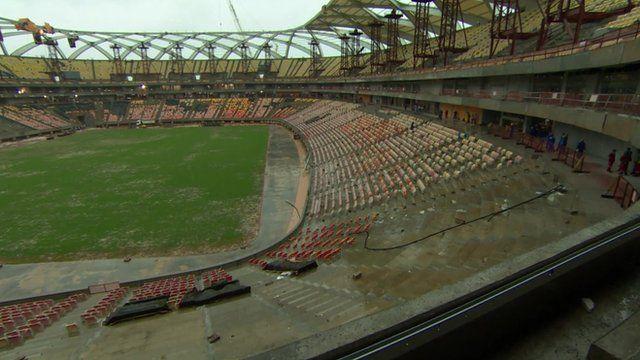Stadium in Manaus