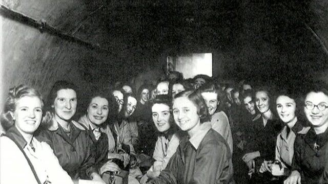Air raid shelters were used during World War Two by many British residents