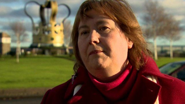 The Mayor of Larne, Maureen Morrow, said planning permission was applied for