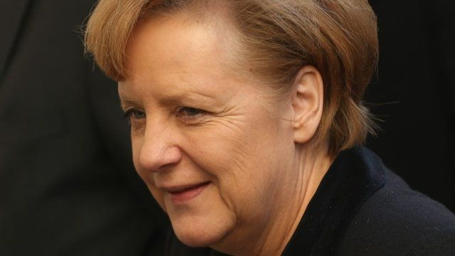 German Chancellor and Chairwoman of the German Christian Democrats (CDU) Angela Merkel