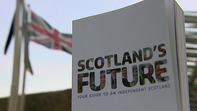 Copy of white paper with union flag in background
