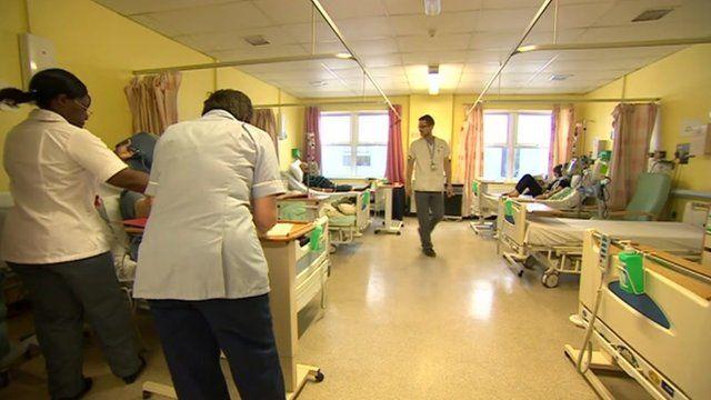 Ward at William Harvey Hospital