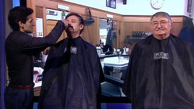 MPs shaved on Daily Politics