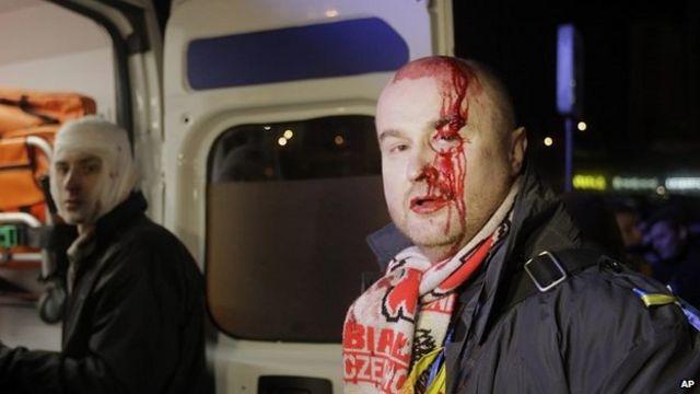 Ukrainian President Yanukovych 'outraged' by violence