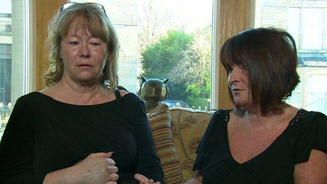 Sisters Ann Faulds and Nancy Primrose