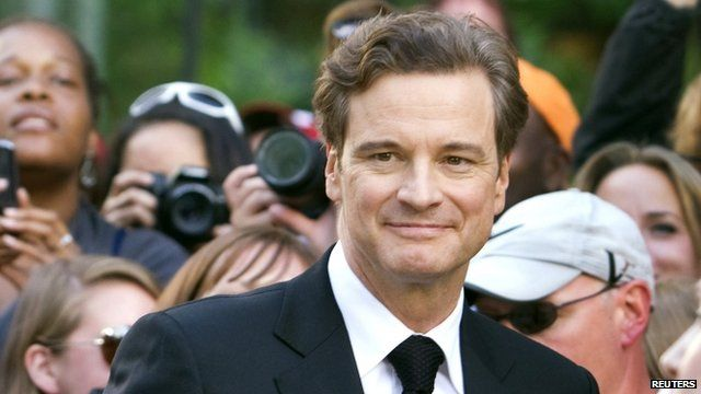 Colin Firth at the premiere of The Railway Man