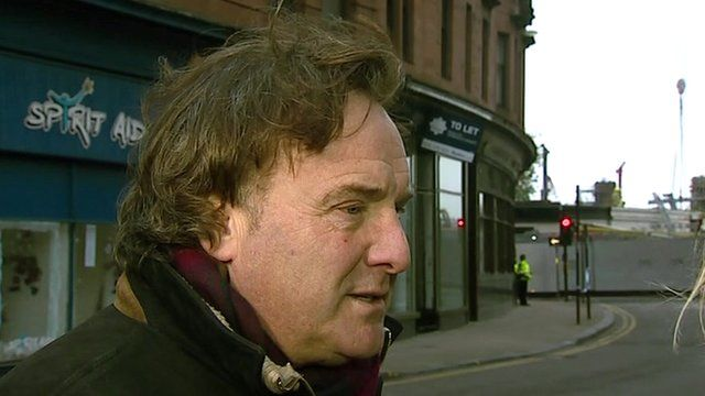 Alan Crassan, owner of the Clutha Vaults pub in Glasgow