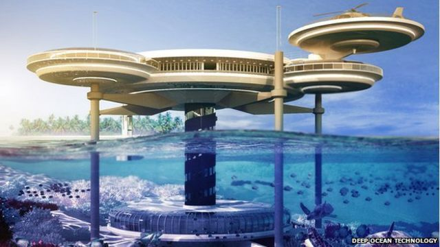 Underwater hotel rooms: Is down becoming the new up?