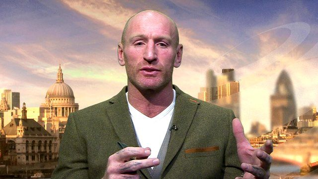 Welsh rugby captain Gareth Thomas