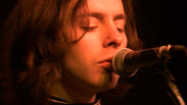 Singer from the band Peace