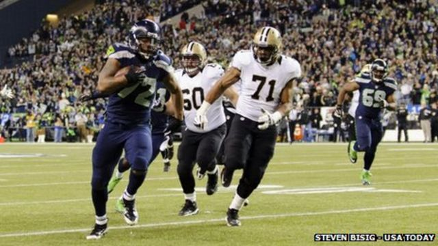 Seattle Seahawks football fans 'caused minor earthquake'