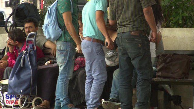 Migrants in Margate