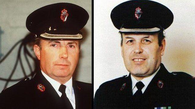 Harry Breen and Bob Buchanan