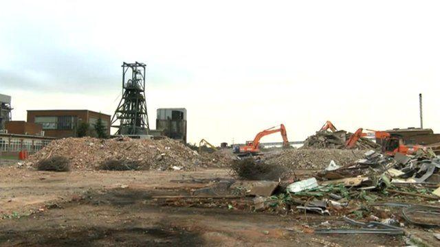 Daw Mill colliery