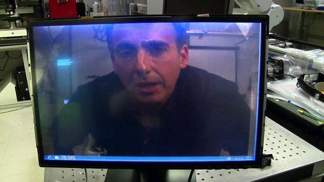 Richard Taylor video call