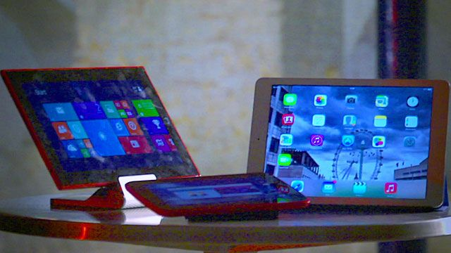 A selection of tablets