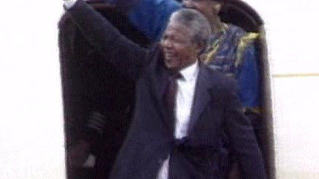 Nelson Mandela in Dublin