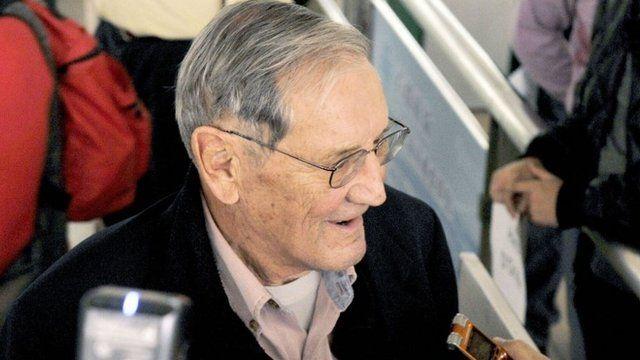 Veteran US soldier Merrill Newman