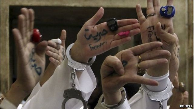 Pro-Morsi protest women freed after Egypt court ruling
