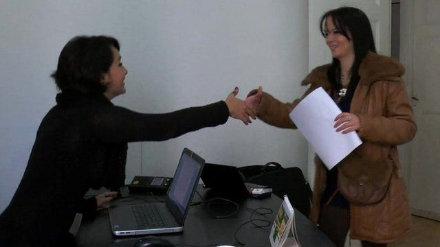 Tunisian female job seeker