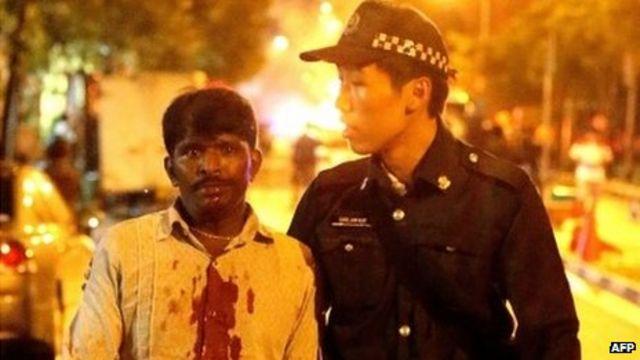 Singapore riot: PM Lee Hsien Loong urges restraint